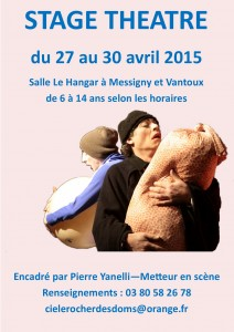 stage théâtre à Messigny